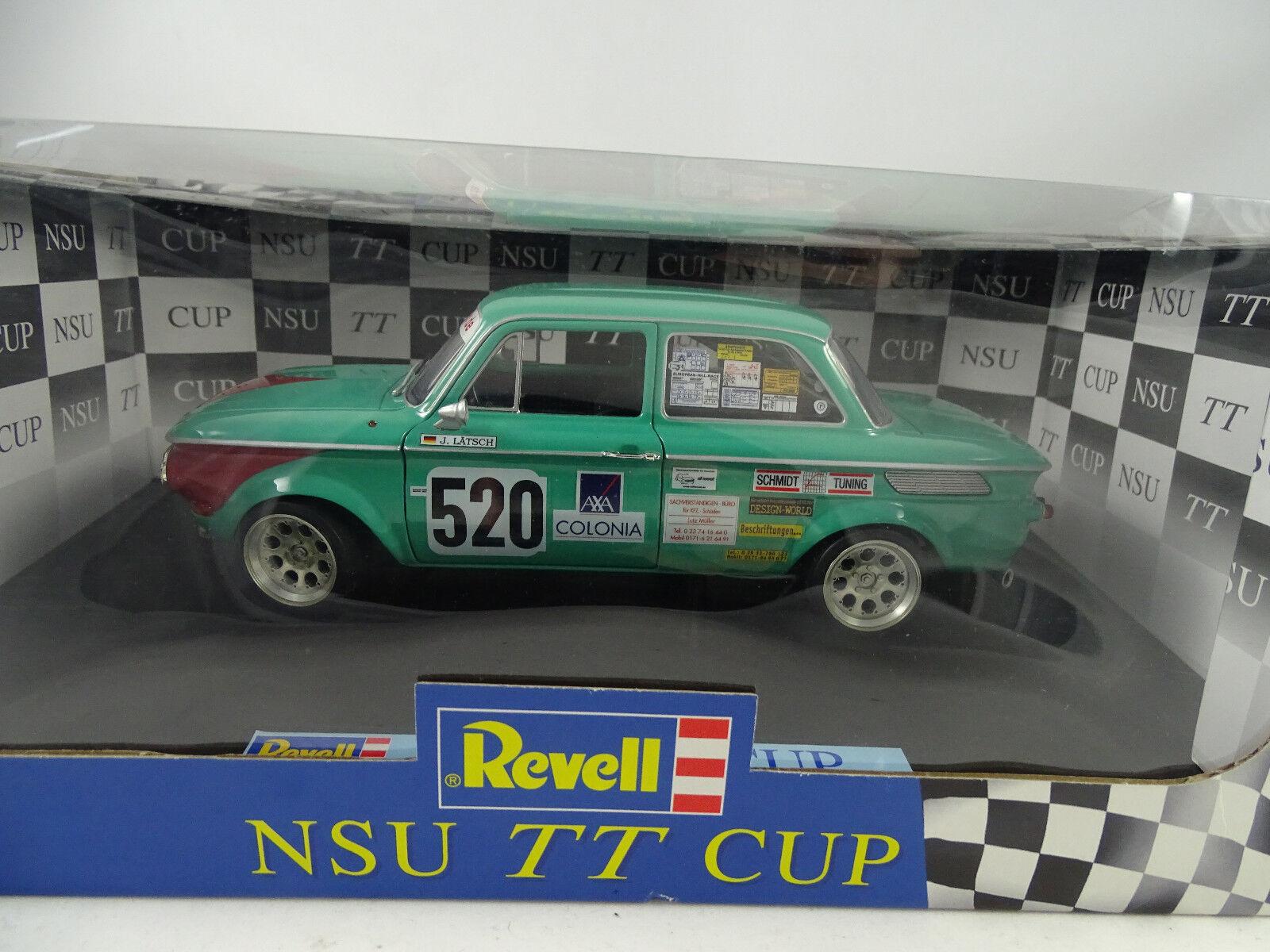 1 18 REVELL  08427 NSU TT Cup Racing  520 J. Lätsch-Rarità Nuovo §