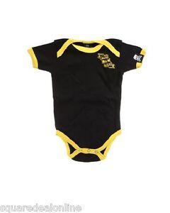 86159 Blue Black Striped Girls Leggings Sourpuss Punk Toddler Baby Child 6-12M