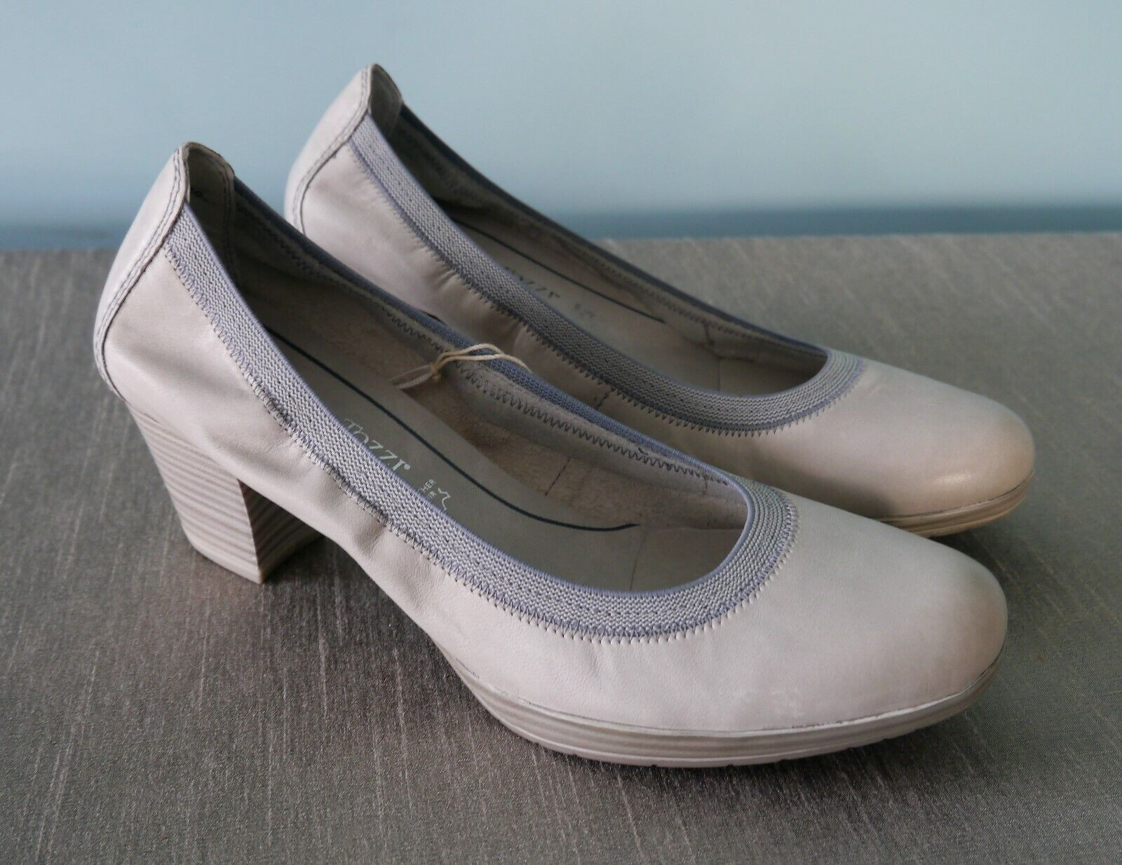 Marco Tozzi Quartz Antic Soft Soft Soft Leather Comfy Heels - Größe 6.5 (EU40) 416aa4