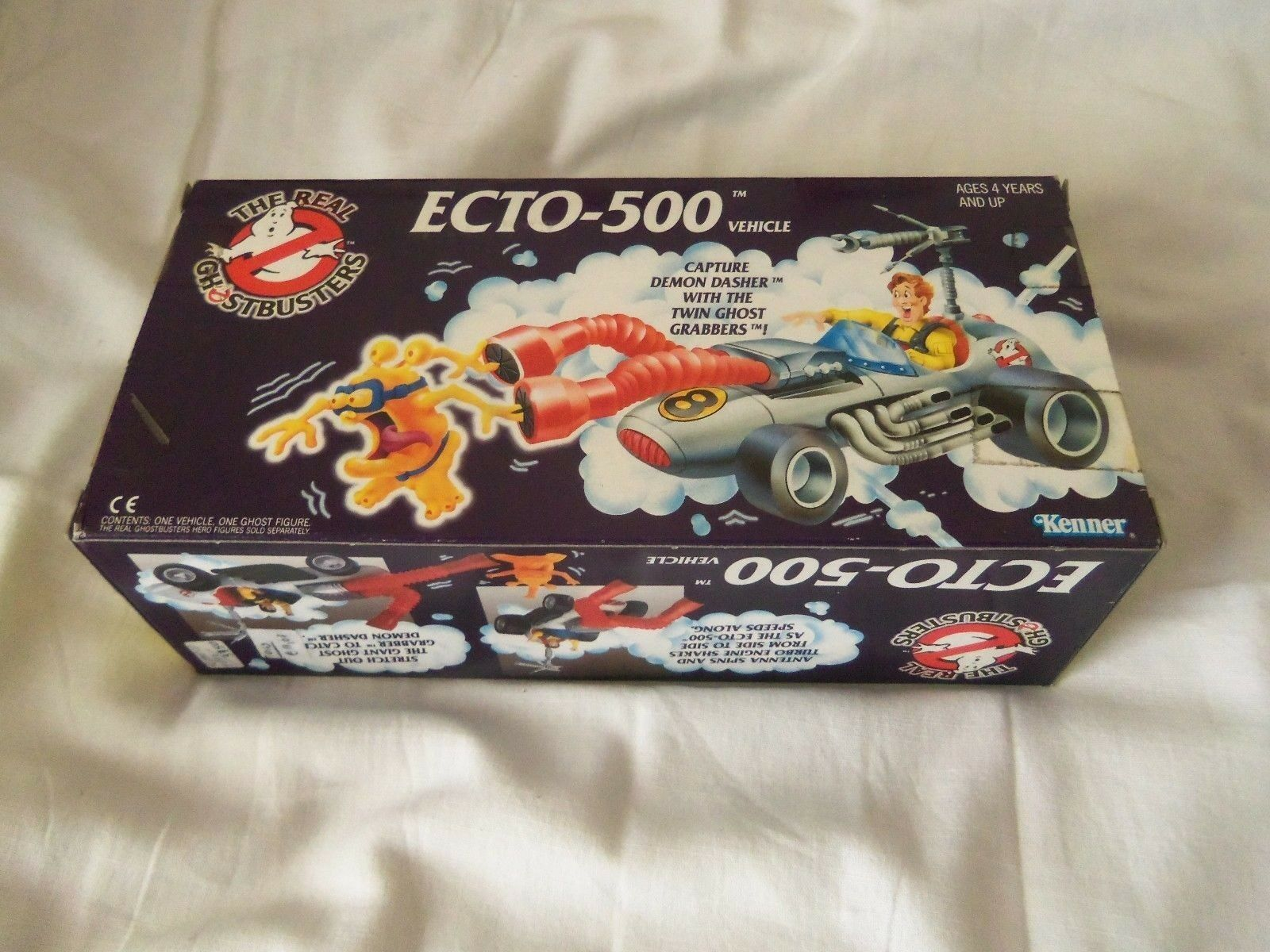 THE REAL GHOSTBUSTERS ECTO-500 VEHICLE VEHICLE VEHICLE DEMON DASHER TWIN GHOST GRABBERS NEW ▲▲▲ f51436