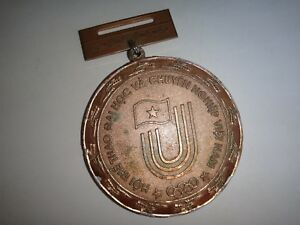 Vietnam-Medalla-SPORTS-Competencia-Among-College-Y-Profesional-Trabajo-Escuela