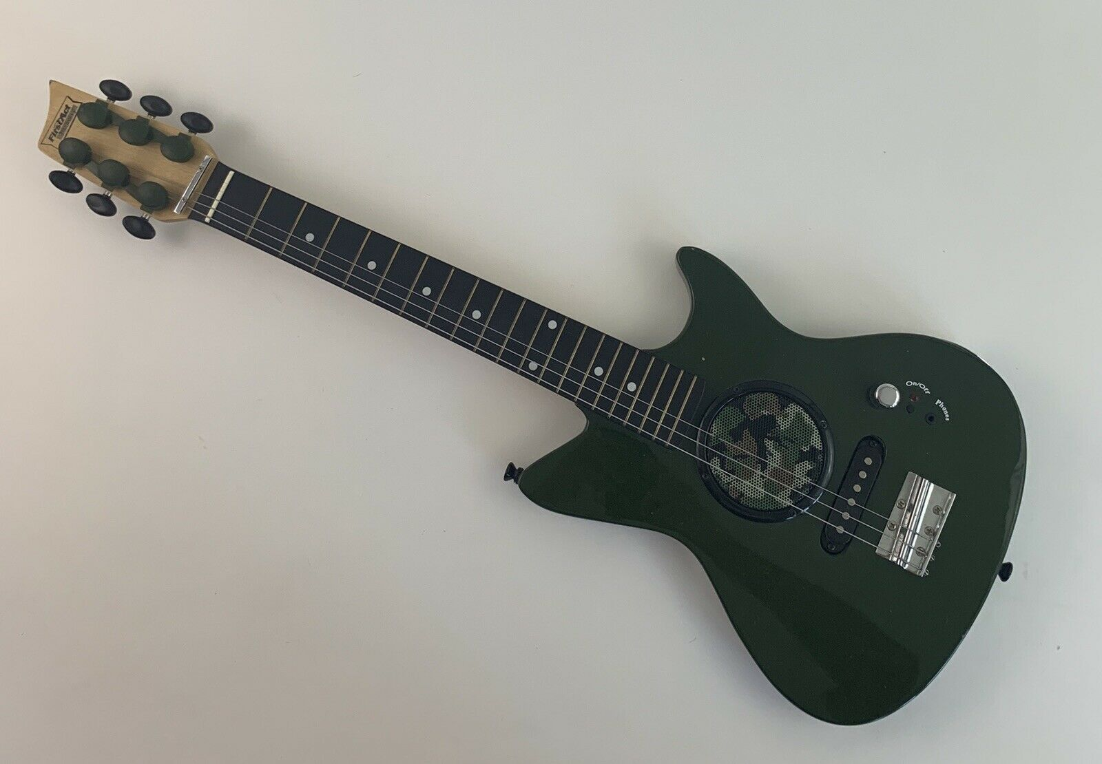 First Act Discovery Camo Electric Guitar with Built-in Amp 6-String Instrument