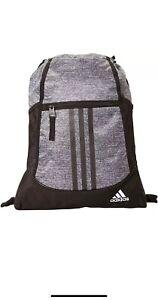 adidas Alliance II Sackpack Onix Jersey BlackWhite ONE SIZE   eBay