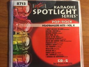 Sound-Choice-Spotlight-Series-Karaoke-SC-8713-Headbanger-039-s-Hits-Vol-X