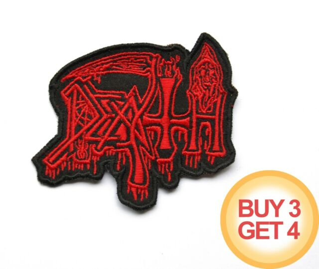 DEATH 2 RD PATCH BUY3GET4,AUTOPSY,OBITUARY,CARCASS,MORBID ANGEL,NILE,SUFFOCATION