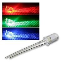 Ultra Bright Water Clear LED 5mm Bulb 3V All Colours Light Emitting Diode LEDs