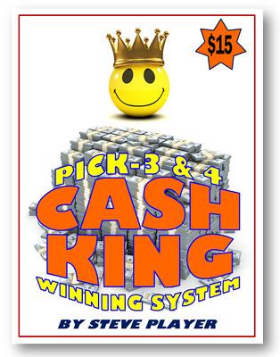 Winning Ohio Cash King Lottery System Pick 3 Pick 4 Steve Player Ebay