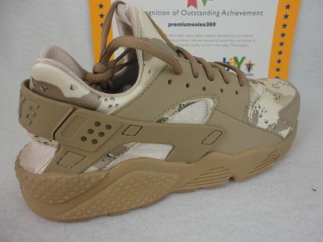 Nike Air Huarache Run, Desert Camo, AT6156 200, Desert Ochre Canteen, Size 13