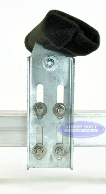 "12/"" Tall Boat Trailer Bunk Brackets Heavy Duty Double U Bolt Swivel Top 2"