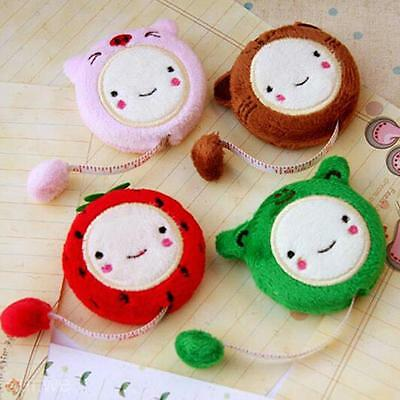 """1.5m/60"""" Lovely Cartoon Tape Measure Retractable Elastic Sewing Rule Stationery"""