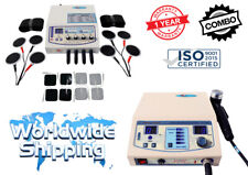 Ultrasound Therapy 1 Mhz And Electrotherapy 4 Channel Machine Combo Delta Mach