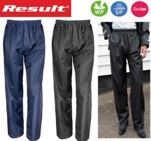 Impermeable-a-prueba-de-viento-lluvia-sobre-pantalones-Luz-Comoda-Azul-Negro-S-a-3XL