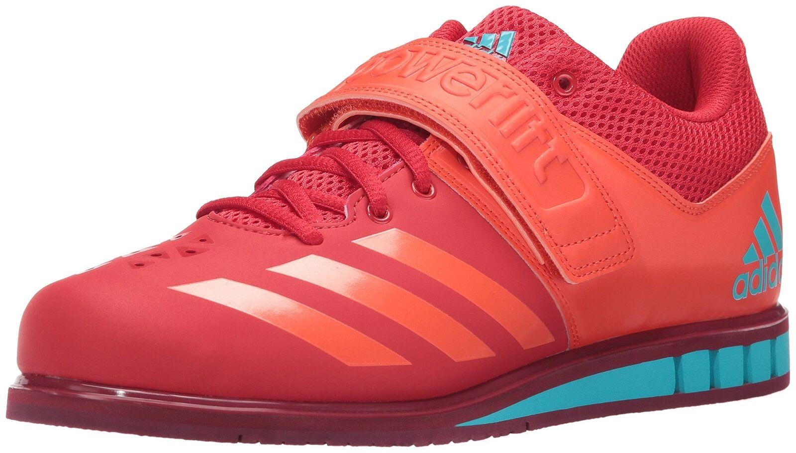 Adidas Men's Powerlift.3.1 Cross Trainer Scarlet Energy Collegiate Burgundy New