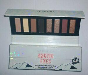 Sephora Arctic Eyes Eyeshadow Palette 8 Shades - New in Box