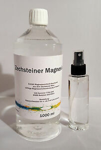 Zechsteiner Magnesiumöl Starter-Kit 1000 ml & Sprühflasche, Magnesiumchlorid