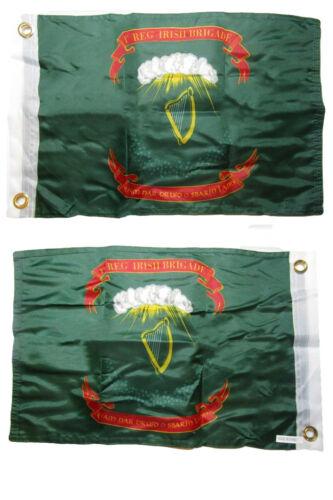 12x18 1st Irish Brigade 2 Faced 2-ply Nylon Wind Resistant Flag 12x18 Inch