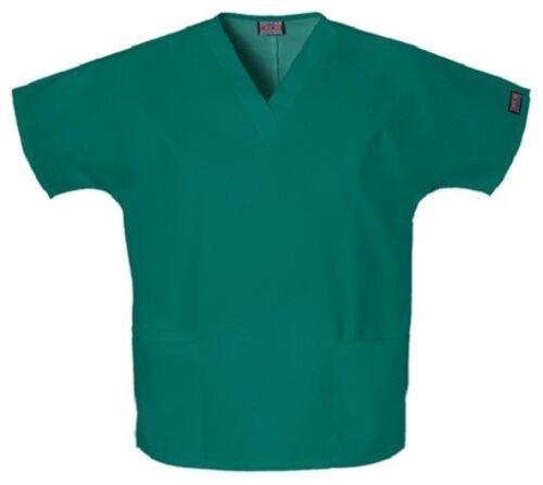 Cherokee Scrubs V Neck Scrub Top 4700 HUNTER GREEN by Cherokee Workwear