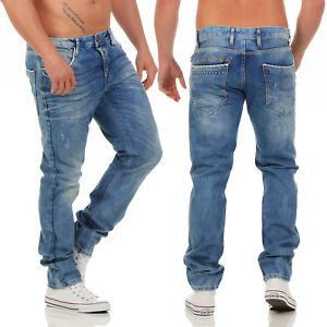 Cipo-amp-Baxx-c-1068-Regular-Fit-Pantalones-Vaqueros-De-Hombre-NUEVO