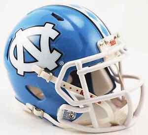 NORTH-CAROLINA-TAR-HEELS-NCAA-Riddell-SPEED-Authentic-MINI-Football-Helmet-UNC