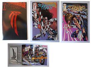 Shaman-039-s-Tears-primi-tre-numeri-1-2-3-Image-Comics-1993-by-Mike-Grell