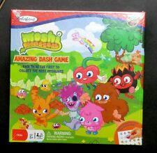 Colorforms Moshi Monsters Amazing Dash game board New