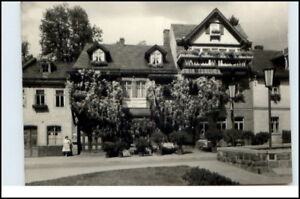 LEUTENBERG-Thueringen-DDR-AK-1965-Pension-Lina-Schmidt