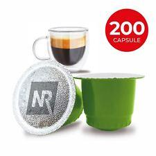200 Capsule Caffè 100% Compatibili NESPRESSO miscela Espresso Bar caffe