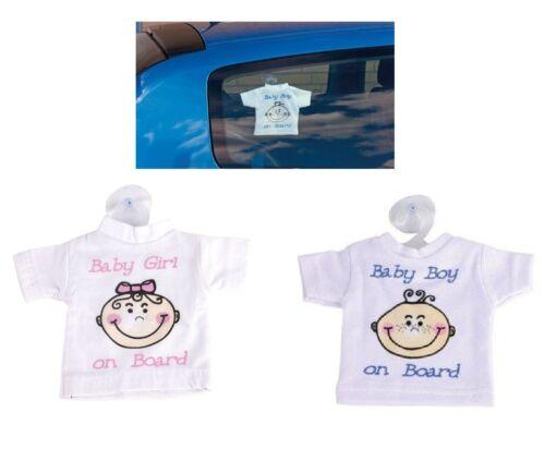 Baby on Board Car Sign Girls Boys Tshirt car safety