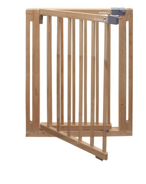 Safety 1st Easy Close Wood Treppenschutzgitter, Mit Schwung SchließBar, TüRsch