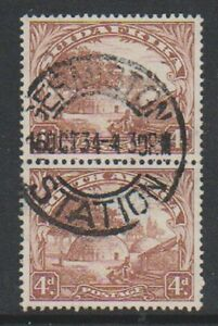 South-Africa-1932-4d-Brown-Vertical-Pair-G-U-SG-46