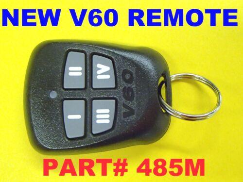 NEW DEI V60 Replacement Multi-Channel Remote FOB 485M Four Buttons EZSDEI475