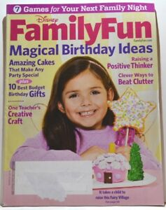 Image Is Loading Family Fun Magazine March 2010 Magical Birthday Ideas