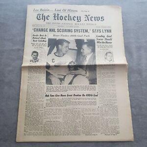 The-Hockey-News-December-20-1958-Volume-12-Number-12-Gordie-Howe-400th-Goal