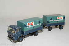 LION CAR DAF 2000 TRUCK WITH TRAILER A&0 VOOR LEVENSMIDDELEN EXCELLENT CONDITION