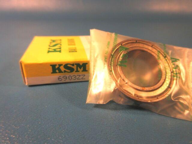 NSK 6903VV SKF=61903 2RS, FAG, NSK, KOYO 6903 VV Deep Groove Ball Bearing