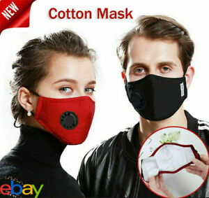 Filtered New Cotton Mask Activated with Respirator Mouth-Muffle Anti Haze
