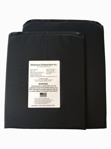 "Ballistic Shield Backpack Insert USA Made Laboratory Tested 10/""x12/"" /& 11x14/"""