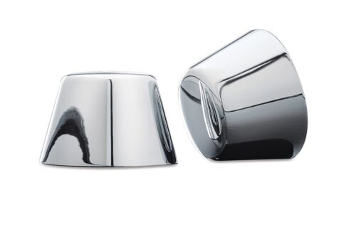 Kuryakyn 1201 Chrome Axle Nut Cover For /'84-/'06 Harley Softail /'80-/'99 Touring