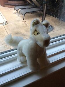 Neopets White Lupe Plush Toy