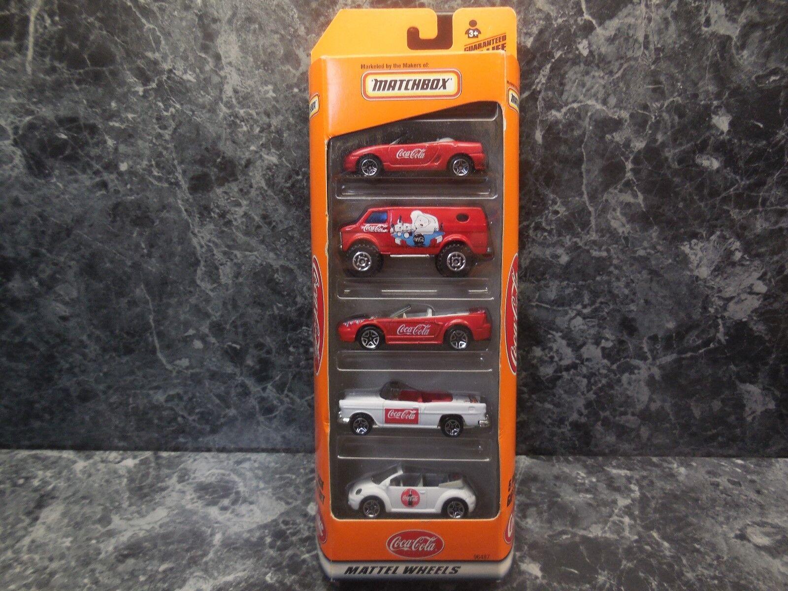 1999 Matchbox Coca-Cola 5 paquete Nuevo