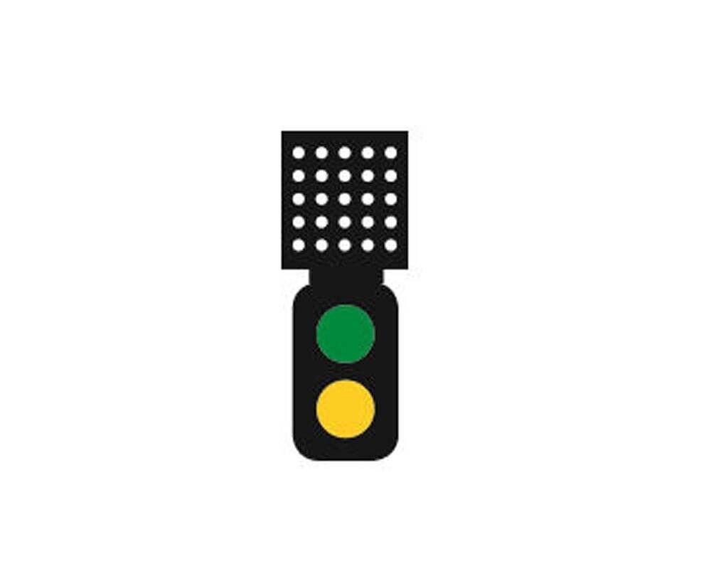 Train Tech Sensor Signal Theatre Indicator  2 Aspect Distant HOOO Gauge TTSS2T