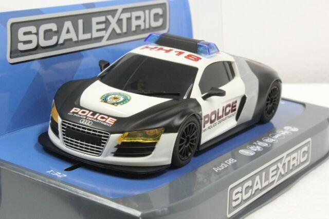 Carrera Digital 132 Sec3932 Audi R8 Police Car 1 32 Slot Car