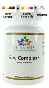 Bee Complex 120 capsules Bee Pollen, Bee Propolis, Royal