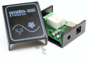 SCHNAPPGEHAUSE-pour-devantech-2-canaux-Ethernet-Relais-Module-eth002-Case