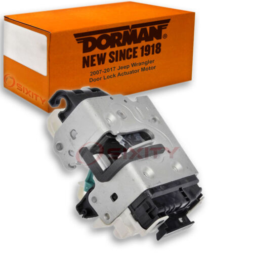 kl Dorman Front Left Door Lock Actuator Motor for Jeep Wrangler 2007-2017