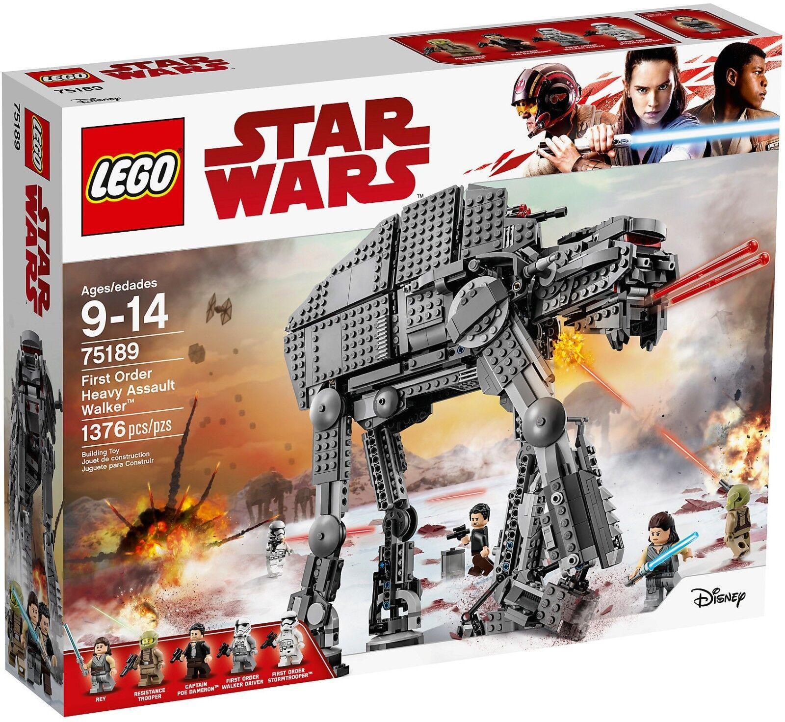 Lego Star wars 75189 - first Bestellung heavy Angriff Walker™ Neu