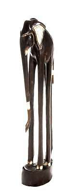 Ciffre 20cm Holz Zebra Holzzebra Schwarz Wei/ß Afrika Style Handarbeit Fair Trade