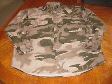 CABELA'S Thick Polyester Flannel Camo Shirt Jacket Men's L-Reg Button Down L/S