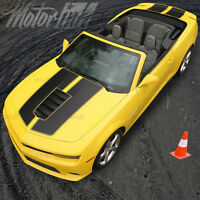 2014 2015 Chevy Camaro Convertible Rally Racing Stripes Hood & Trunk Ss 2016