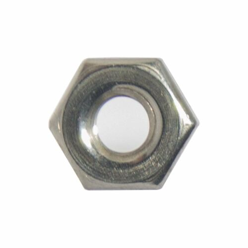 8-32 Machine Screw Hex Nuts Stainless Steel 18-8 Qty 500